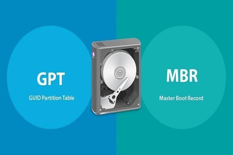 Hướng dẫn chuyển ổ cứng GPT sang MBR bằng mini partition wizard